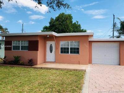Miramar Single Family Home For Sale: 6316 SW 22nd Street