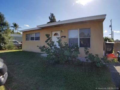 West Palm Beach Single Family Home For Sale: 1376 11th St