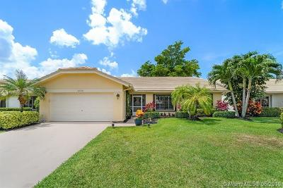 Boca Raton Single Family Home Active With Contract