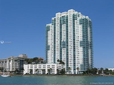Miami Beach Condo For Sale: 650 West Av #910