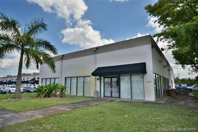 Sweetwater Commercial For Sale: 1460 NW 107th Ave #45R