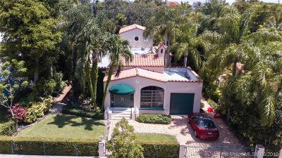 Coral Gables Single Family Home For Sale: 525 Altara Ave