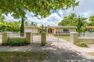 Coral Gables Single Family Home For Sale: 2508 Anderson Rd