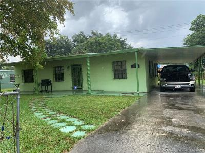 Miami Gardens Single Family Home For Sale: 2301 NW 166th St
