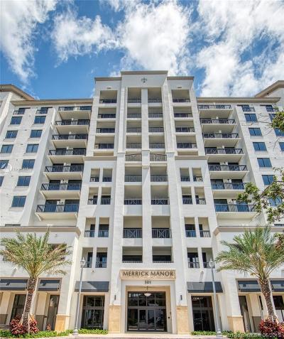 Coral Gables Condo For Sale: 301 Altara Ave #309