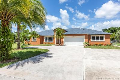 Homestead Single Family Home For Sale: 24200 SW 142nd Ave