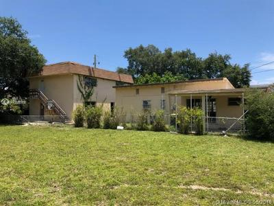Hallandale Single Family Home For Sale: 716 SW 1