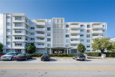 Bay Harbor Islands Condo For Sale: 1075 92nd St #505