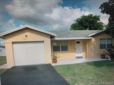 Tamarac Single Family Home For Sale: 8201 NW 103rd Ave