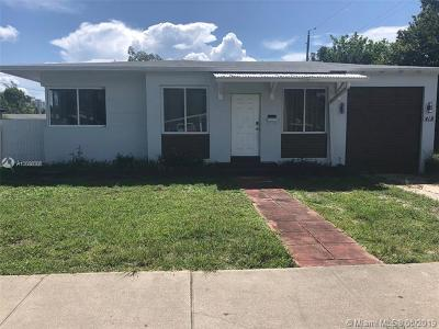 Hollywood Single Family Home For Sale: 419 S 24th Ave