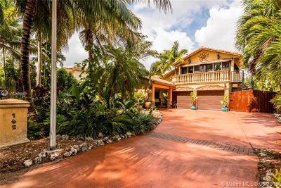 Miami Springs Single Family Home For Sale: 162 De Leon Dr