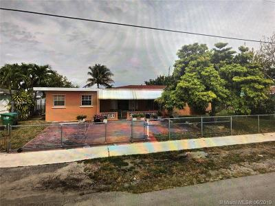 Miami Gardens Single Family Home For Sale: 4501 NW 168th Ter