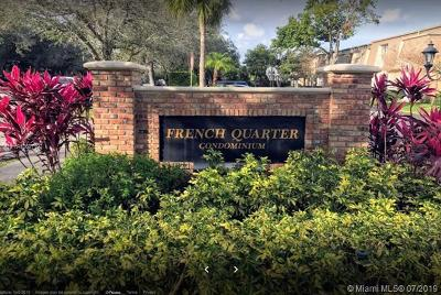Plantation Condo For Sale: 290 NW 69th Ave #269