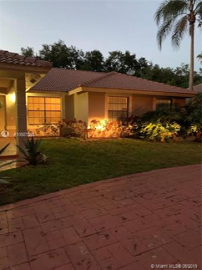 Coral Springs Single Family Home For Sale: 8907 NW 55th Pl