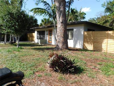 Fort Lauderdale Single Family Home For Sale: 1007 NE 12th St
