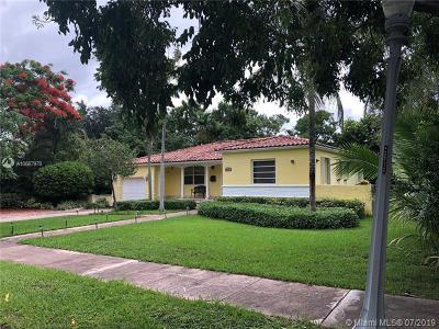 Coral Gables Single Family Home For Sale: 3907 Harlano St