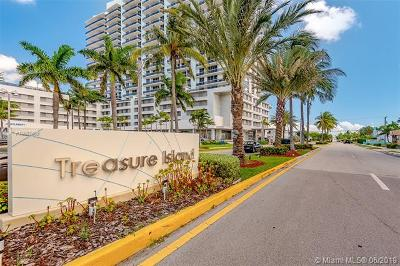 North Bay Village Condo For Sale: 1801 S Treasure Dr #222