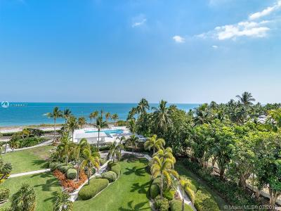 Key Biscayne Condo For Sale: 615 Ocean Dr #2B