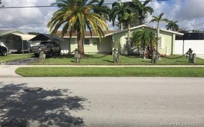 Cutler Bay Single Family Home For Sale: 20220 Bel Aire Dr