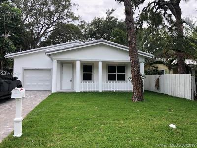 Fort Lauderdale Single Family Home For Sale: 411 SW 12th Ave
