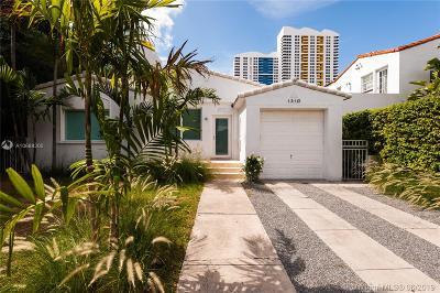 Miami Beach Single Family Home For Sale: 1310 Flamingo Way