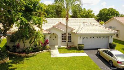 Coral Springs Single Family Home For Sale: 8855 NW 45th Place