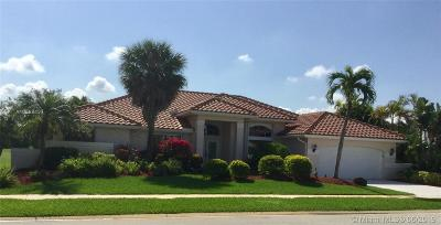 Boca Raton Single Family Home For Sale: 11368 Boca Woods Ln