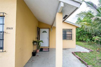 Miami Gardens Single Family Home For Sale: 20601 NW 37th Ct