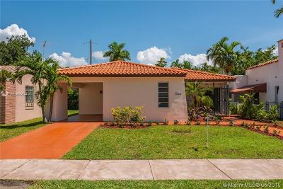 Coral Gables Single Family Home For Sale: 1221 La Mancha Ave