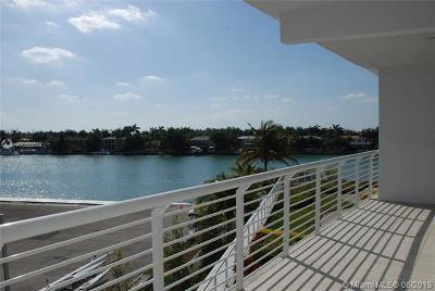Miami Beach Rental Pending Sale: 6580 Indian Creek Dr #304