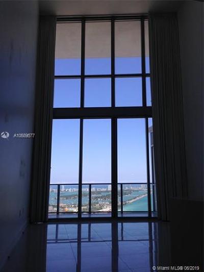 Marquis Condo, Marquis Condominium, Marquis Residences Rental For Rent: 1100 Biscayne Blvd #4505