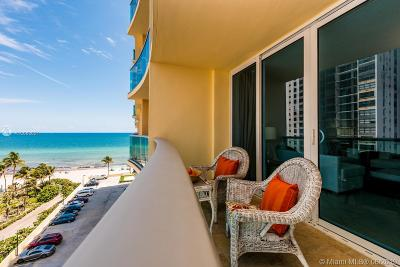 Hollywood Condo For Sale: 2501 S Ocean Dr #802