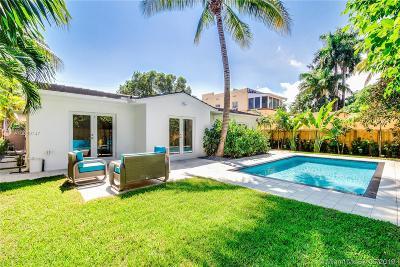 Miami Beach Single Family Home For Sale: 3020 Alton Rd