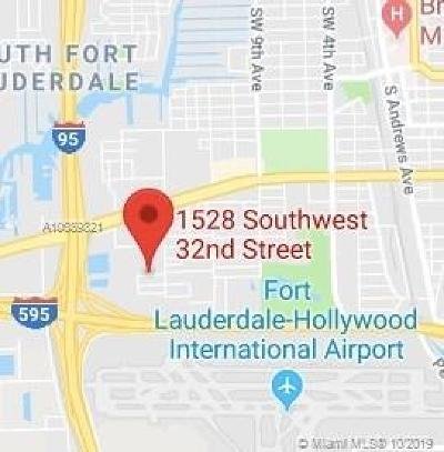 Broward County Residential Lots & Land For Sale: 1528 SW 32nd St