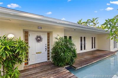 Coral Gables Single Family Home For Sale: 510 San Servando Ave