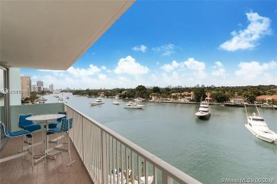 Miami Beach Condo For Sale: 5838 Collins Ave #5B