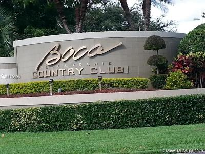 Boca Raton Condo For Sale: 17064 Boca Club Blvd #4