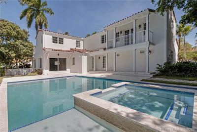 Coral Gables Single Family Home For Sale: 533 Alhambra Cir