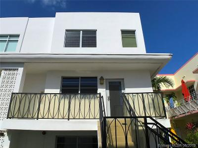 Miami Beach Condo For Sale: 338 Euclid Ave #C212