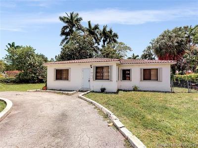 Miami Springs Single Family Home For Sale: 540 S Royal Poinciana Blvd