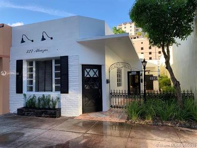 Coral Gables Single Family Home For Sale: 327 Alcazar Ave