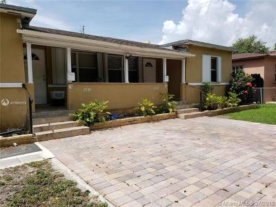 Miami Single Family Home For Sale: 2532 SW 27th St