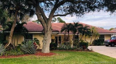 Palm Beach Gardens Single Family Home For Sale: 7 Thurston Dr
