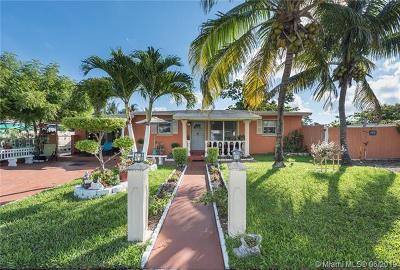 West Park Single Family Home For Sale: 4411 SW 31st Dr