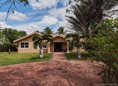 Miami Single Family Home For Sale: 18501 SW 208th St