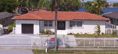 Hialeah Single Family Home For Sale: 7535 W 14th Ave
