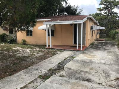 Fort Lauderdale Single Family Home For Sale: 809 NW 15th Ter