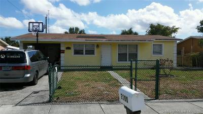 Fort Lauderdale Single Family Home For Sale: 2100 NW 28 Ter