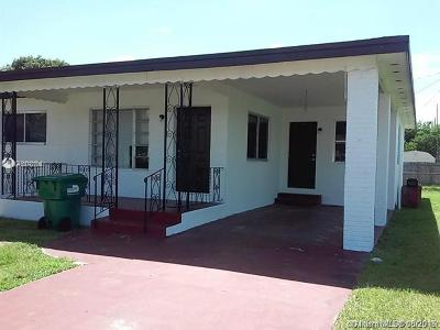 Opa-Locka Single Family Home For Sale
