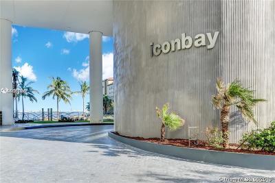 Icon Bay, Icon Bay Condo Condo For Sale: 460 NE 28 #1008